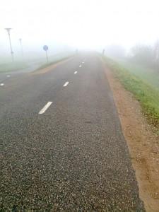 fietser met doel voor ogen