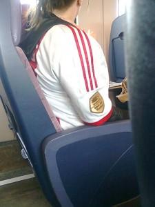ontmoeting, huldiging Ajax, trein