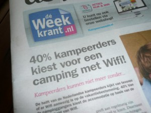 kamperen met wifi